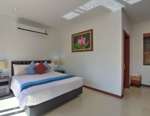 Villa Baan Suk Sabai - Bedroom four and ensuite