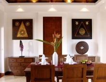 Villa Baan Suk Sabai - Indoor dining
