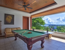 Villa Baan Suk Sabai - Pool table