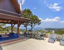 Villa Baan Suk Sabai - Upper sun deck